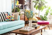 Apartment Ideas (significant overlap with my cottage) / by Jessica Hocking