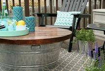 Backyard~Porch~Outdoors / by Christine Pickett