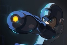 Mega Man  / Mega Man is one of my fave video game series of all time.  Used to co-run a huge Mega Man fan site (mega man: the man in blue).  Really sad Capcom hasn't been giving him enough quality love lately.... / by Brandi Williams