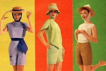 mid-century fashion / by Annie Belle