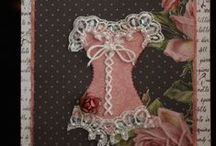Cardmaking - Corset / Corset embellishments and cards / by LeeAnne Schroeder