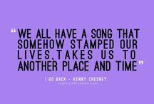 Lyrics / by Marissa Erickson