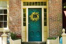 Knock Knock! / They keep 'em out, they keep 'em in. Everyone needs doors. / by Deborah de Boer