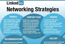 LinkedIn / LinkedIn infographics. #LinkedIn articles at http://www.scoop.it/t/linkedin-action-networking  / by Andrew Calkins