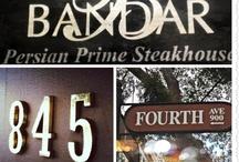Bandar Restaurant / by Tiba Farahani