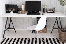 Interiors: Home Office / by Elaine Dieball