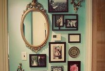 Fine Art Wall Gallery / Great concepts for cherishing your family in any available space in your home! / by Elaine Dieball