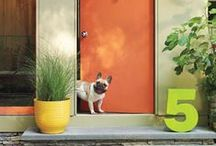 Doors, Entryways, House Numbers and Foyers / by Offbeat Home & Life
