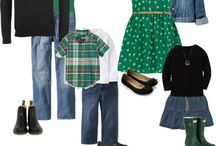 What to Wear  / Ideas for what to wear to your photo session! Coordinate without being matchy-matchy! / by Elaine Dieball