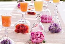 Centerpieces / Ideas for creating centerpieces for your table throughout the year! / by Kristy Inmon Cook