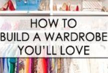 Wardrobe planning & ideas / by Madel Reinhardt