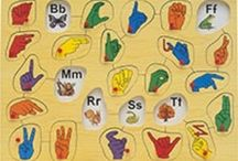 Homeschool: ASL / by Elaine Dieball