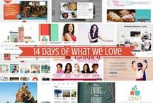 14 Days of What We Love / As you celebrate the month of LOVE, we're celebrating a few things of our own leading up to the big day on February 14th. Cheers to #14DaysofWhatWeLove! / by Craft Web Solutions