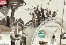 "Infographics / ""Information is not knowledge.""  ― Albert Einstein / by Arie Van Baarle"