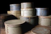 Boxes ~ Shaker, Pantry, Firkin, More / by Elda Kinnee