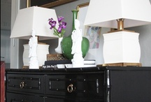 BLACK LACQUER  / Black lacquer / by South Shore Decorating