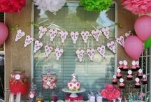 birthday party ideas / by Megan Smith