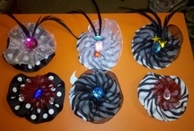 CHERi's Hair Bows and accessories / Hairbows I have fun Making and selling / by Cheryl Croce Culver