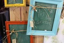 Chalk / Chalk Board Paint Ideas  / by Melissa Schornagel Walker