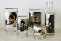 Bottles & Jars Empty But Things I Fancy / by Billie S.