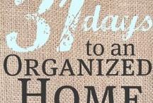 cleaning & organizing / by Rhonda Bridges