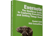 Productivity Books / I'm so delighted to have been the author of two amazing apps: #Springpad & #Evernote!  / by DEG Consulting
