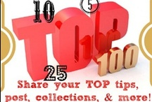 #1 Top Tips / Welcome to our Top Tips, Round Up post, Best of Post, etc. The pins need to be a blog post which is a collection of some sort and not a single tutorial. Look at the examples below! It is best if the photo represents the collection for best Pinterest traffic.  If something doesn't fit it will get deleted and if I have to do it twice you'll be blocked from the board.  Email cafescrapper@gmail.com  *FAMILY FRIENDLY* / by Susie @SusieQTpiesCafe.com