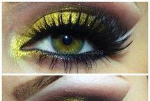 Makeup by ME! / makeup beauty color  / by April Lopes
