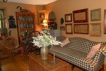 Primitive Living Rooms / by Jennifer Bowman