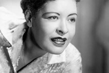 MISS BILLIE HOLIDAY  / by Linda Delamater