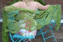 Crochet - Shawls and Wraps / by Kate T