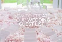 Wedding Planning 101 / So you said 'yes'... congrats! Now what? / by Colin Cowie Weddings