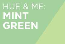 Hue & Me: Mint Green / Incorporate mint green into your wedding decor, wedding cake, bridesmaids' dresses, and more! / by Colin Cowie Weddings