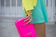 The New Neon / by The Budget Babe