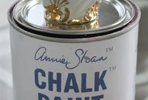 Annie Sloan chalk paint / by Gustaviaans vintage homestyle Chalk Paint™ van Annie Sloan