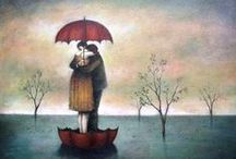 Just because I have always loved UMBRELLAS / Just because I have always loved Umbrellas  / by Teresa Bostian