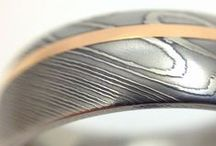 Damascus Steel / An ancient tradition of forged and folded steel.  / by DnH Jewelers