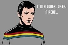 """Shut up, Wesley!"" / Paying homage to the geektasticness of Wil Wheaton!  / by The Musings & Gleanings of a Sci-fi Chick"