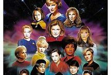 Women of Star Trek / by The Musings & Gleanings of a Sci-fi Chick