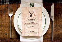 menus / wedding menu ideas / by kristin burgess {by emily b.}