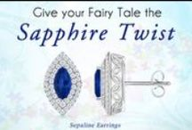 Sapphire Earrings & Studs / Finding two perfectly matching sapphire pieces for a pair of earrings is a challenge but at Angara.com we have a good collection of really beautiful and magnificent pairs, particularly designed to suit your needs.    / by Angara.com Jewelry