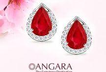 Ruby Earrings & Studs / Angara offers a stunning collection of ruby earrings, ruby earring, gold ruby earrings, ruby gold earrings, ruby stud, diamond ruby earrings, ruby ear rings, ruby stud earrings, ruby studs, ruby earrings studs, ruby and diamond earring, white gold ruby earrings, ruby drop earrings, heart ruby earrings, ruby earrings yellow gold, silver ruby earrings, red ruby earrings, ruby hoop earrings, created ruby earrings, pearl and ruby earrings, ruby pearl earrings, genuine natural ruby earrings, etc. / by Angara.com Jewelry