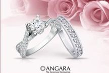 Girl's Best Friend! / Diamonds – white, so calm and pristine, so elegant and sophisticated! Find your carat piece at Angara.com. / by Angara.com Jewelry