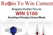 Pin To Win Contest / Pin To Win... The Most Wonderful Sweepstakes & Contests... Win exciting prizes and gifts every week. Sharing is Caring... Refer your friends and let them also win... / by Angara.com Jewelry
