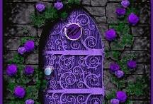 Doors, Doors, Everywhere! / by Lisa Rattlinggourd