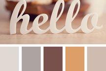 Colour palettes / colour schemes / by Emma Rich