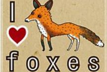 Foxes / by Joelle Skender