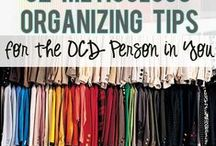 Home organization and cleaning tips / by Maritza Luciano
