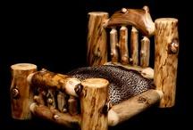 Log Furniture / by San Za