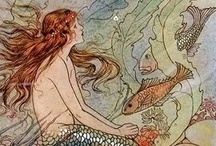 Angels 'n' faeries 'n' mermaids / by Cecily
